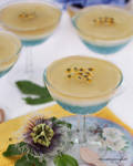 Passion Fruit Champagne Gelee