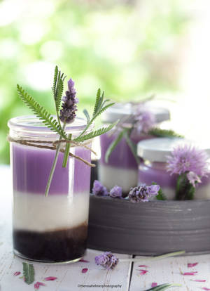 Lavender Marshmallow Mousse by theresahelmer