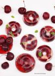 Mini Cherry Lychee Fruity Donuts