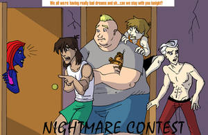 Nightmare Contest Promo by TheBrotherhoodclub