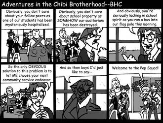 Pep It Up by TheBrotherhoodclub