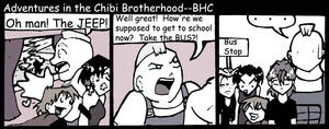 Bus-iness as Usual by TheBrotherhoodclub