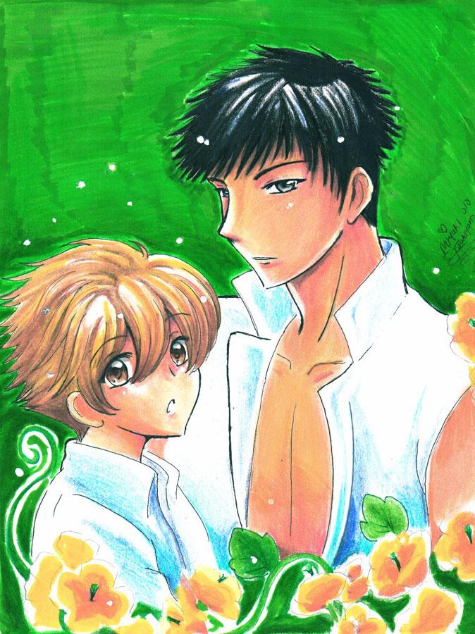 OuranKouKou_Honey_Mory_Green by Miyuki-Tsukiyono