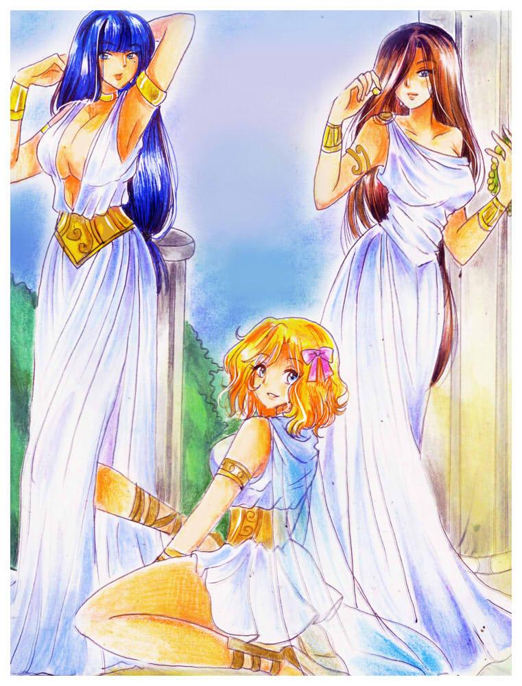 Greek Gods Anime PictureAnime Greek Gods And Goddesses