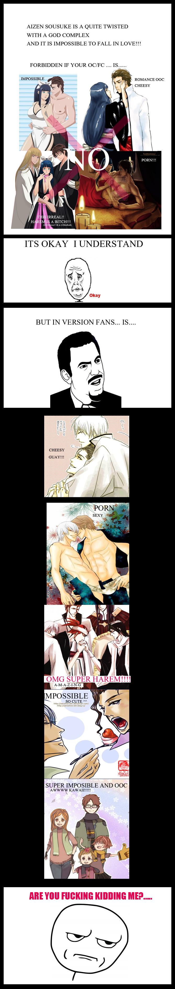 Aizenxoc_Kidding me? by Miyuki-Tsukiyono