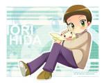 Digimon_Iori_upamon