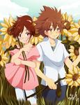 KHR_sunflowers by Miyuki-Tsukiyono