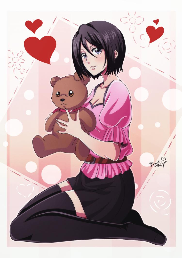 Bleach_cutie_Teddybear by Miyuki-Tsukiyono