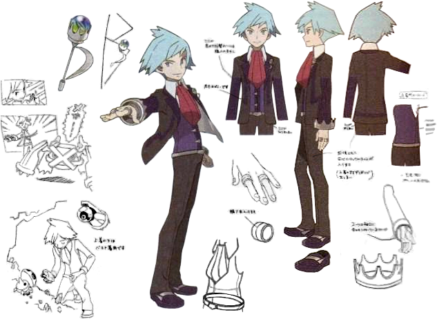 Steven_Reference_sheet by Miyuki-Tsukiyono