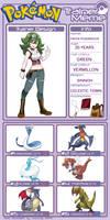Pokemon Trainer Freya