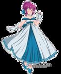 Commission_Mikki_BlueDress