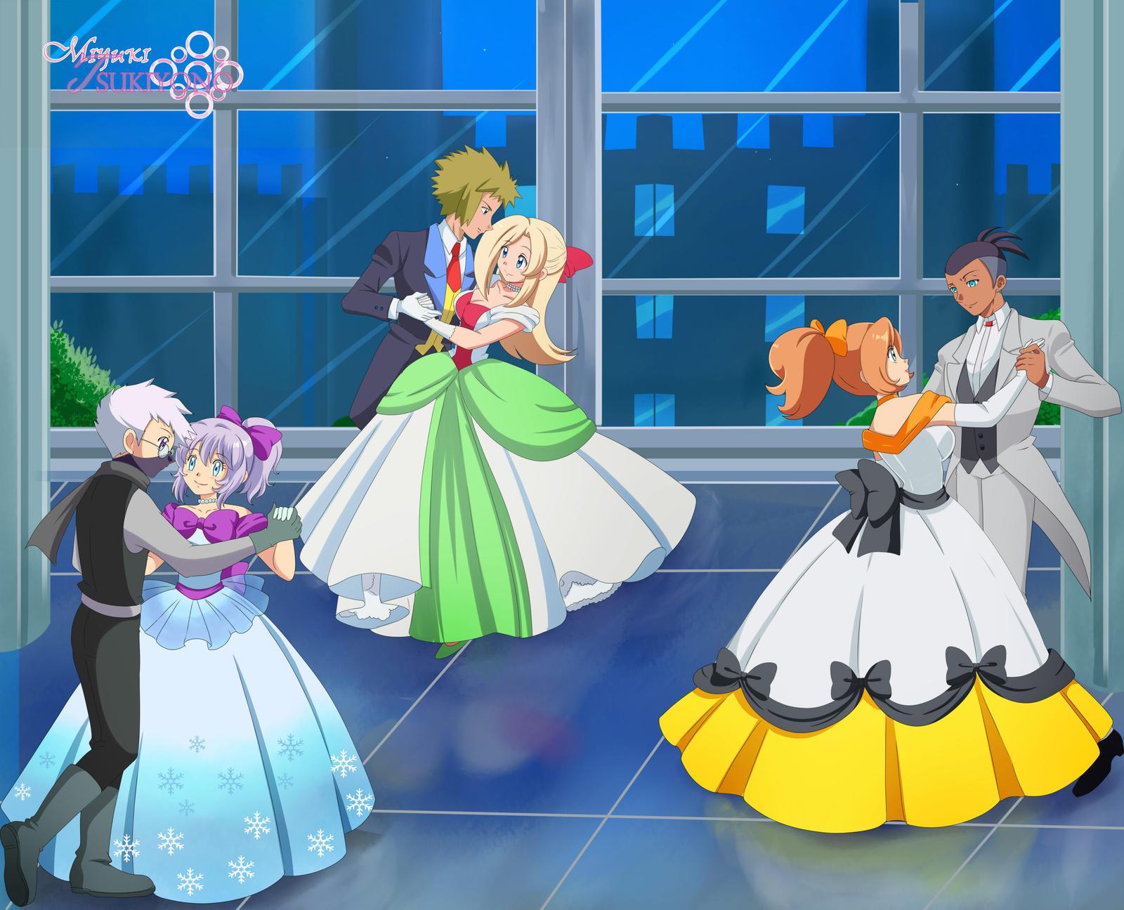 Pokemon Delta Dance Party