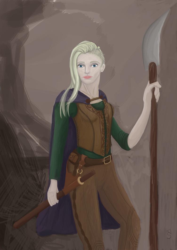 Warrior by Knechthilde