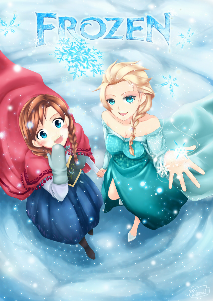 Frozen fan art by mizonaki