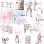 Doodles doodles everywhere