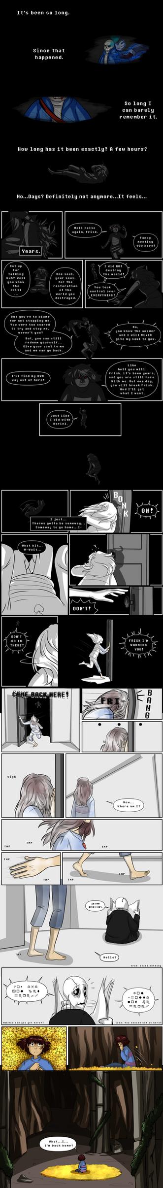 Undertale comic by ZannyHyper
