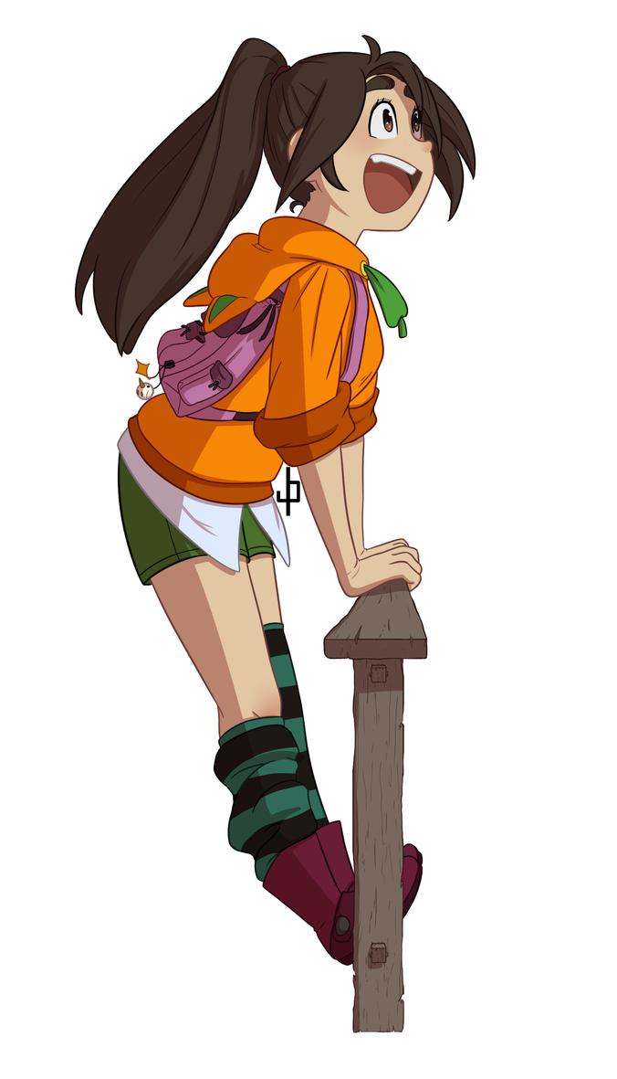 OC: Nina by ZannyHyper