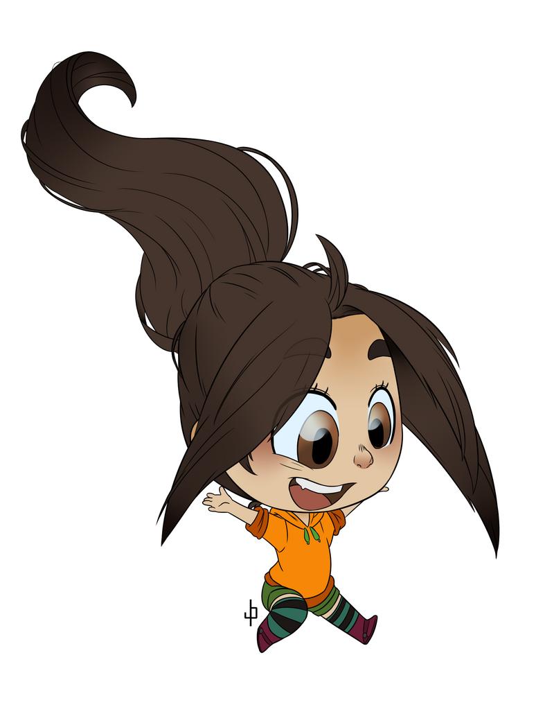 Chibi Nina by ZannyHyper