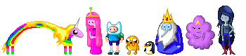 Nuevos moderadores globales - Página 2 Pixel_adventure_time_cast_by_vanishing_trees-d3ci732