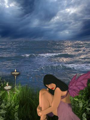 Lonely fairy by mirameli