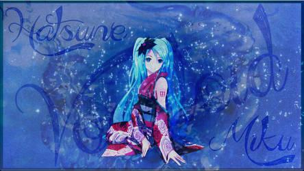 Miku wallpaper for PS3 theme