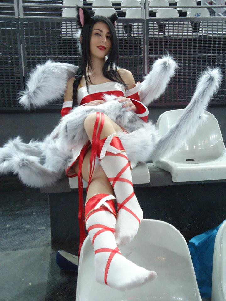 Sexy cosplay feet