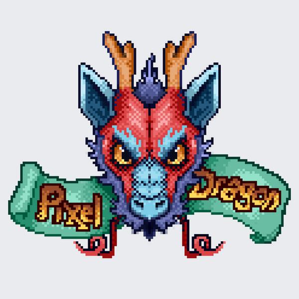 Pixel Dragon by sofmer