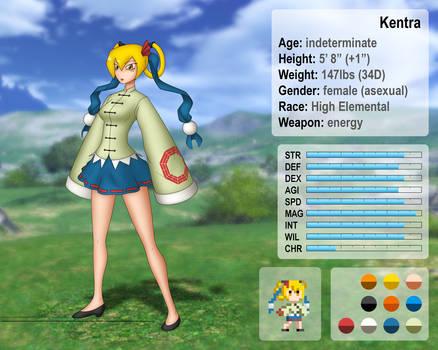 Kentra character template