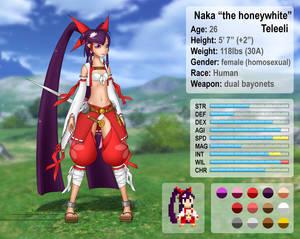 Naka Teleeli 2.3 character sheet