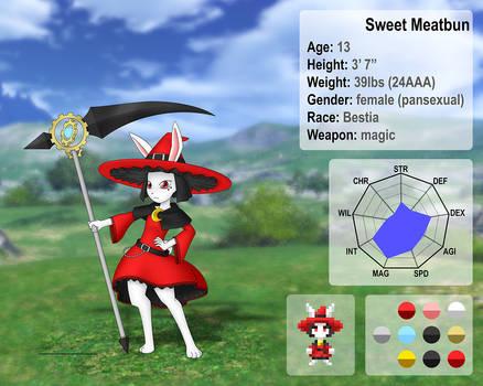 Sweet Meatbun character sheet