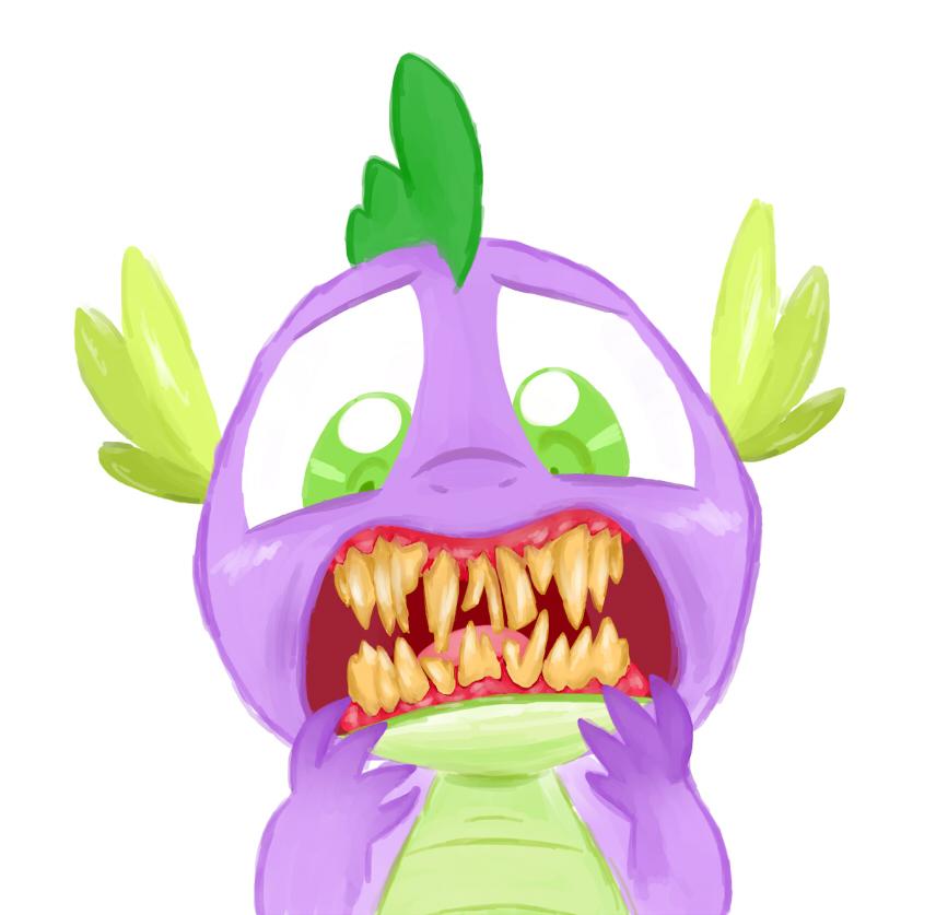 Spike's Teeth by Blleeeaauuurrgghhh