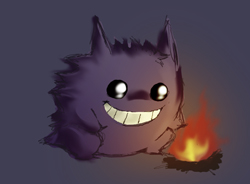 Gengar by Panda-In-A-Box