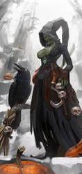 witch by Putrenko
