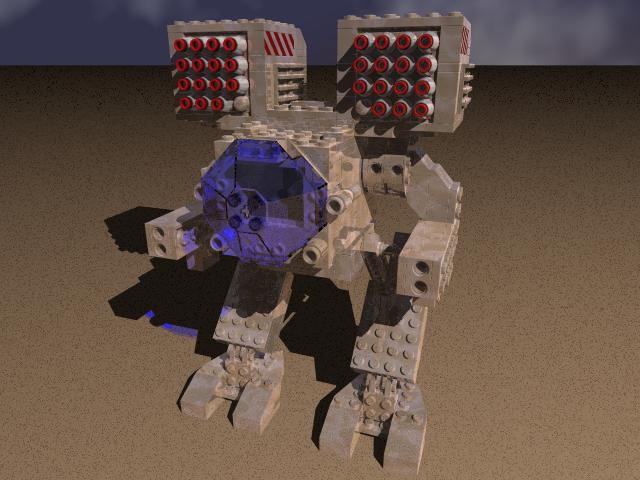 Utiliser des Lego pour un wargame Lego_Mad_Cat_OmniMech_by_MechWarriorsClub