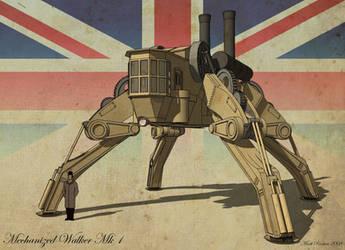 Mechanized  Walker Mk1 by MechWarriorsClub