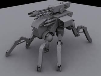 Spider  Mech by MechWarriorsClub