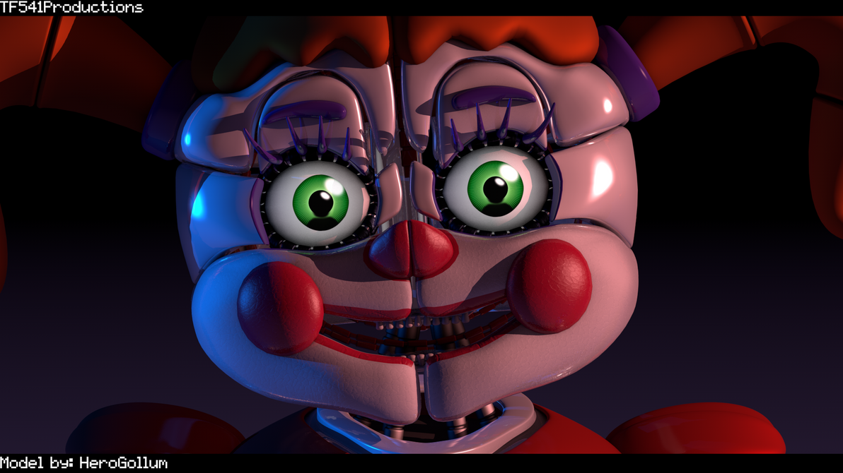 FNAF: SL - Baby Render by TF541Productions