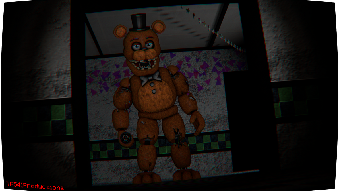 Withered Freddy Render by TF541Productions
