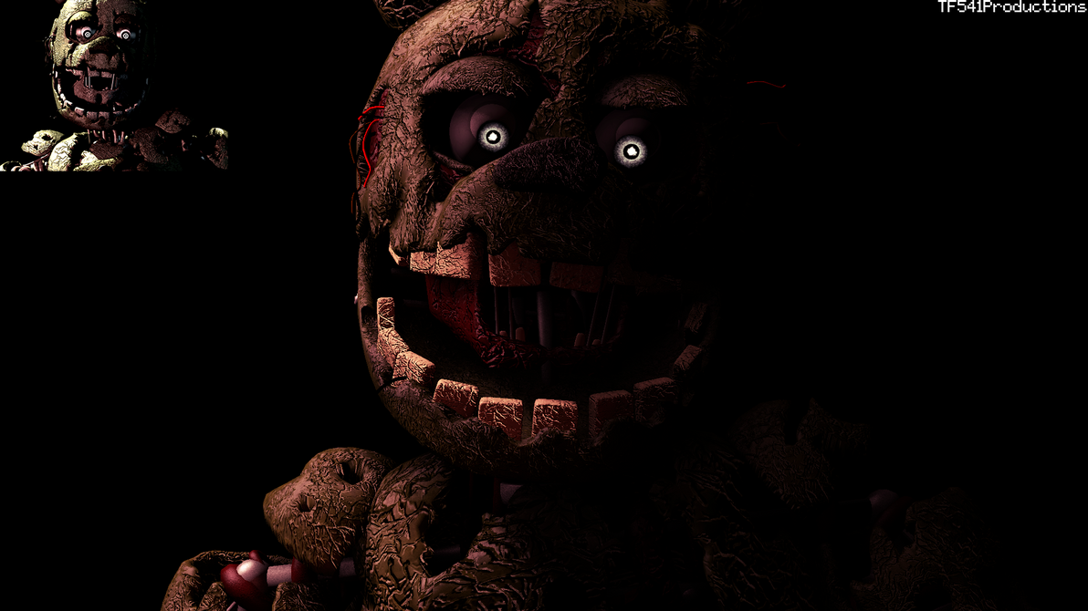 Springtrap Hidden Screen Recreation 1 by TF541Productions