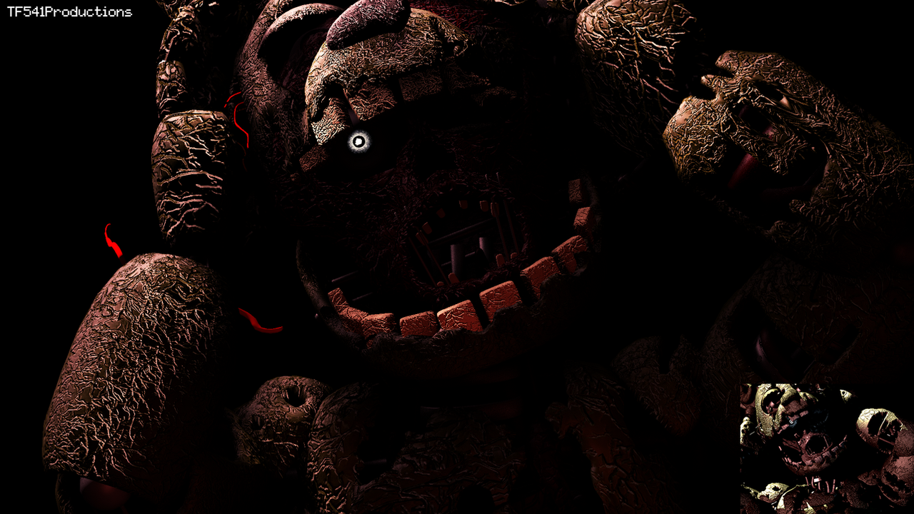 Springtrap Hidden Screen Recreation 2 by TF541Productions