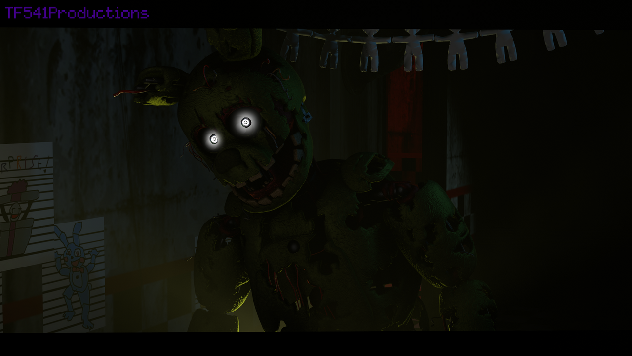 FNAF 3  - Cam 8 by TF541Productions