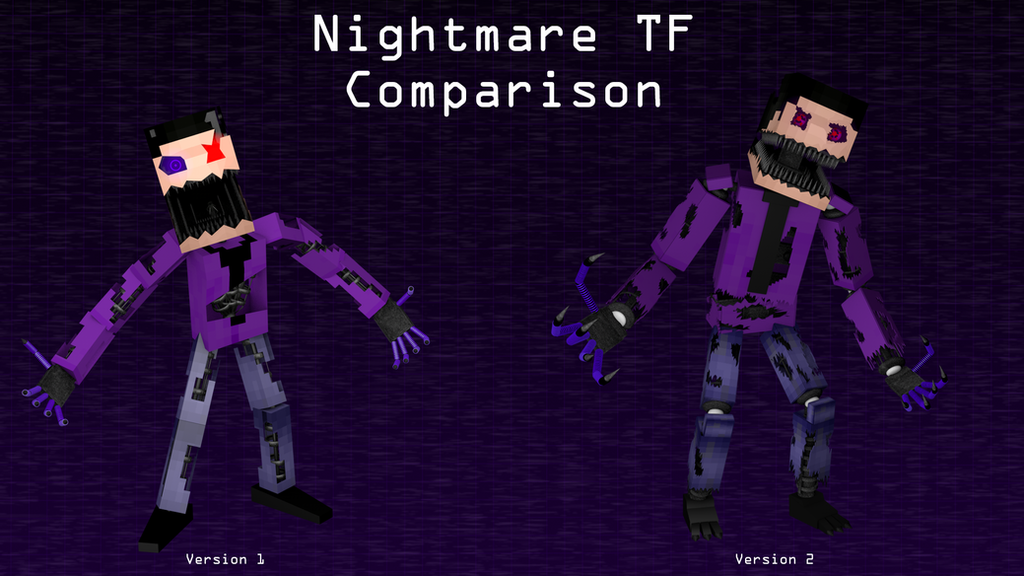 Nightmare TF Comparison by TF541Productions