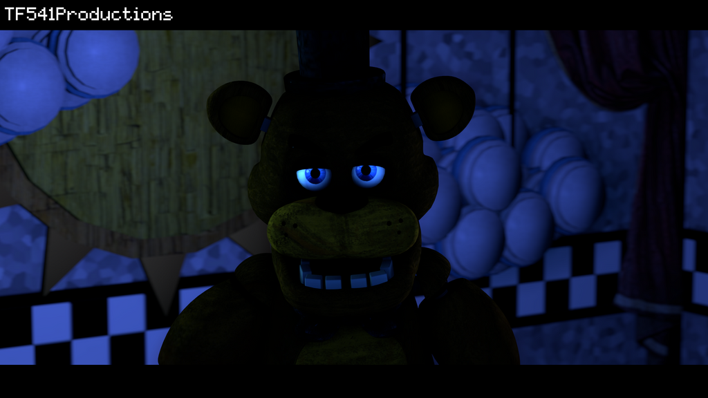 Angry Freddy by TF541Productions