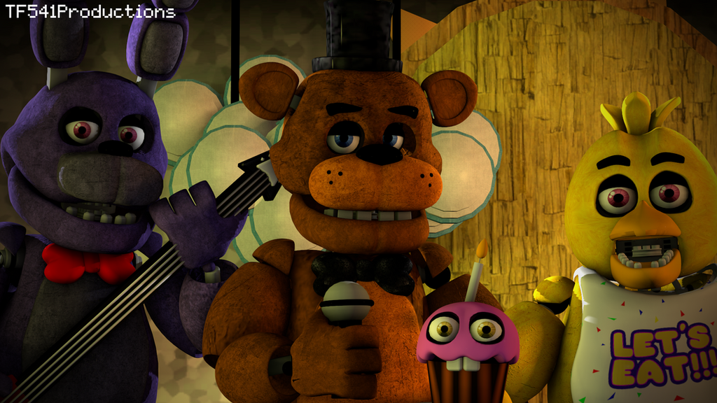 Five Nights at Freddy's - The Band by TF541Productions