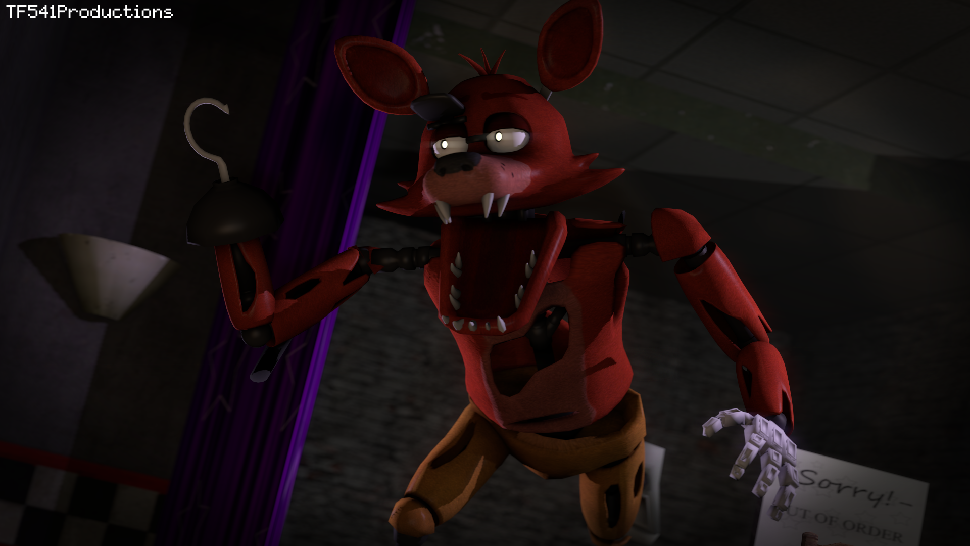 I6NIS Foxy The Pirate by TF541Productions