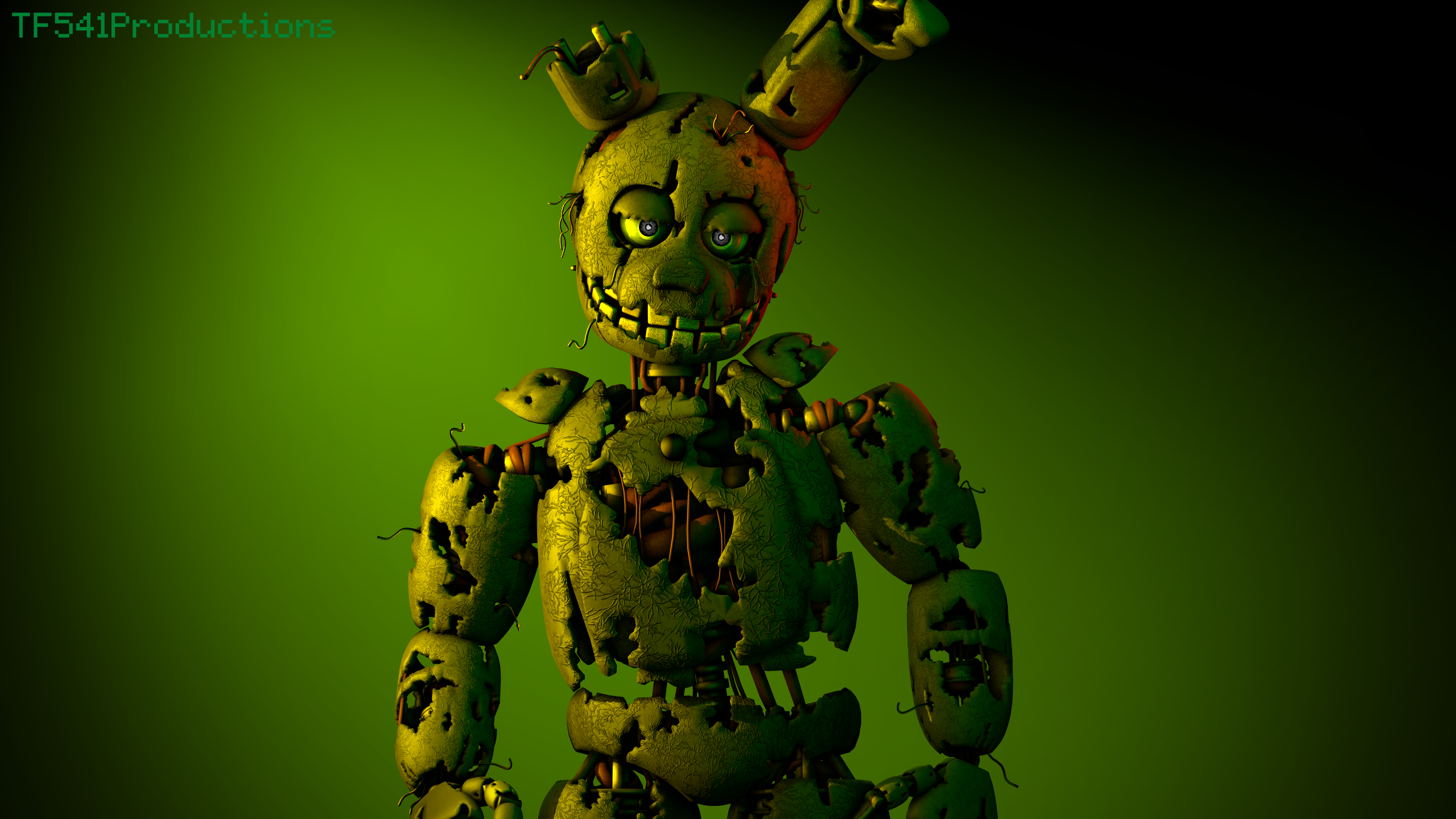 Springtrap V3 Render by TF541Productions