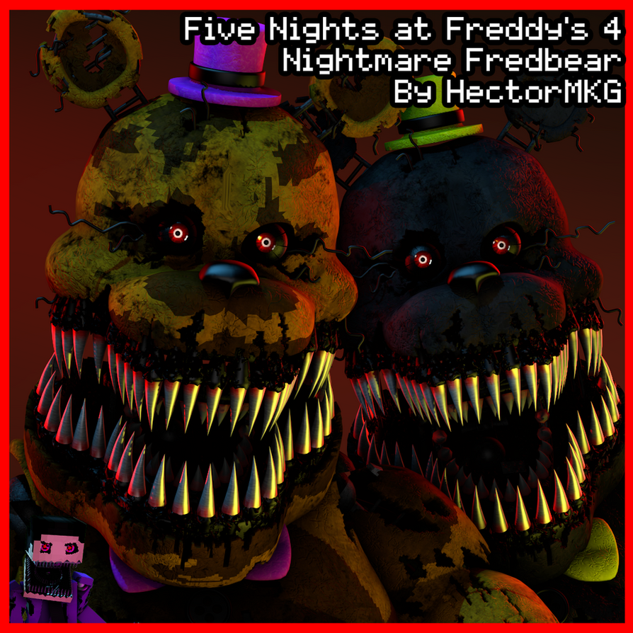 Nightmare Fredbear by HectorMKG (SFM RELEASE) by TF541Productions