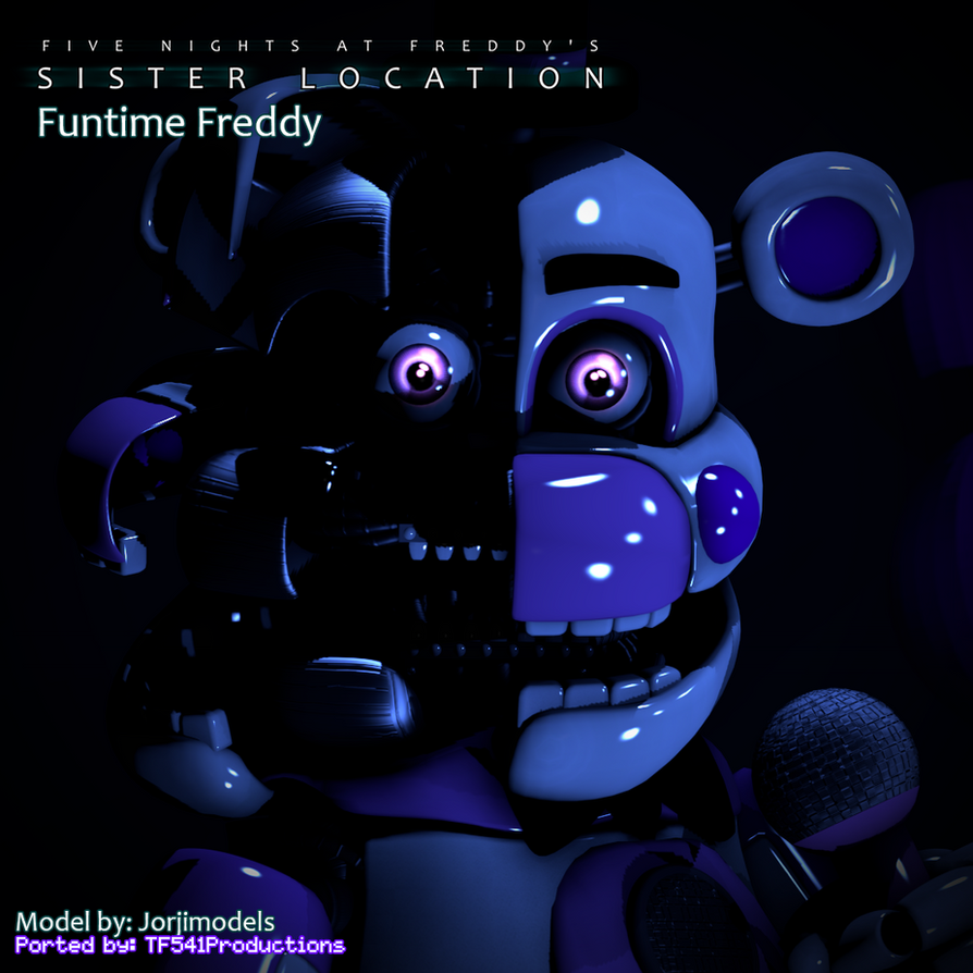 [SFM] Funtime Freddy V4 (DOWNLOAD) By Jorjimodels by TF541Productions