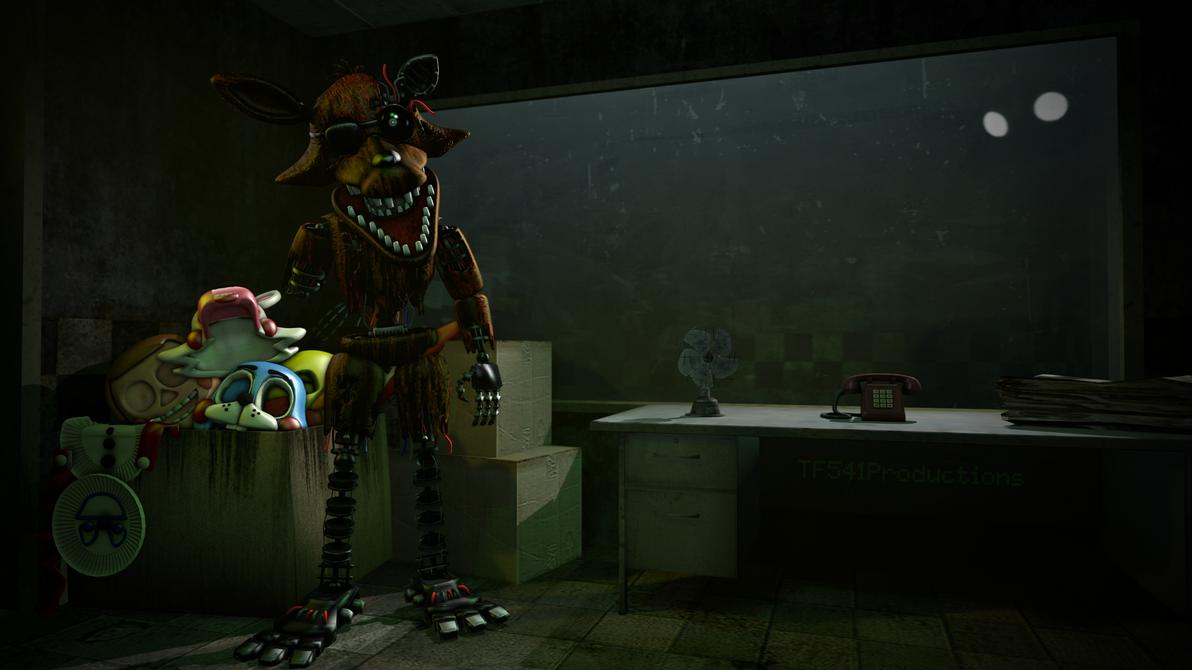 A Phantom Fox Who Gawks Behind An Eyepatch by TF541Productions