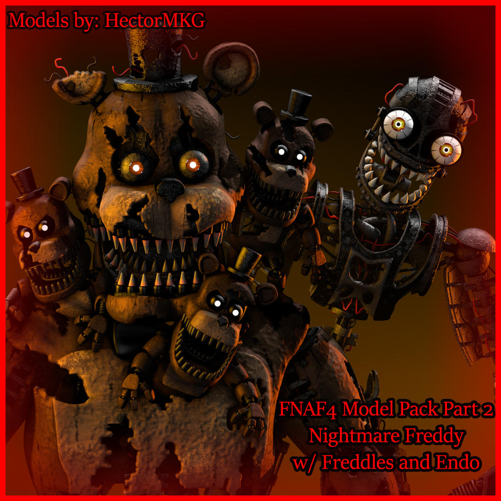 HectorMKG's Nightmare Freddy Released by TF541Productions